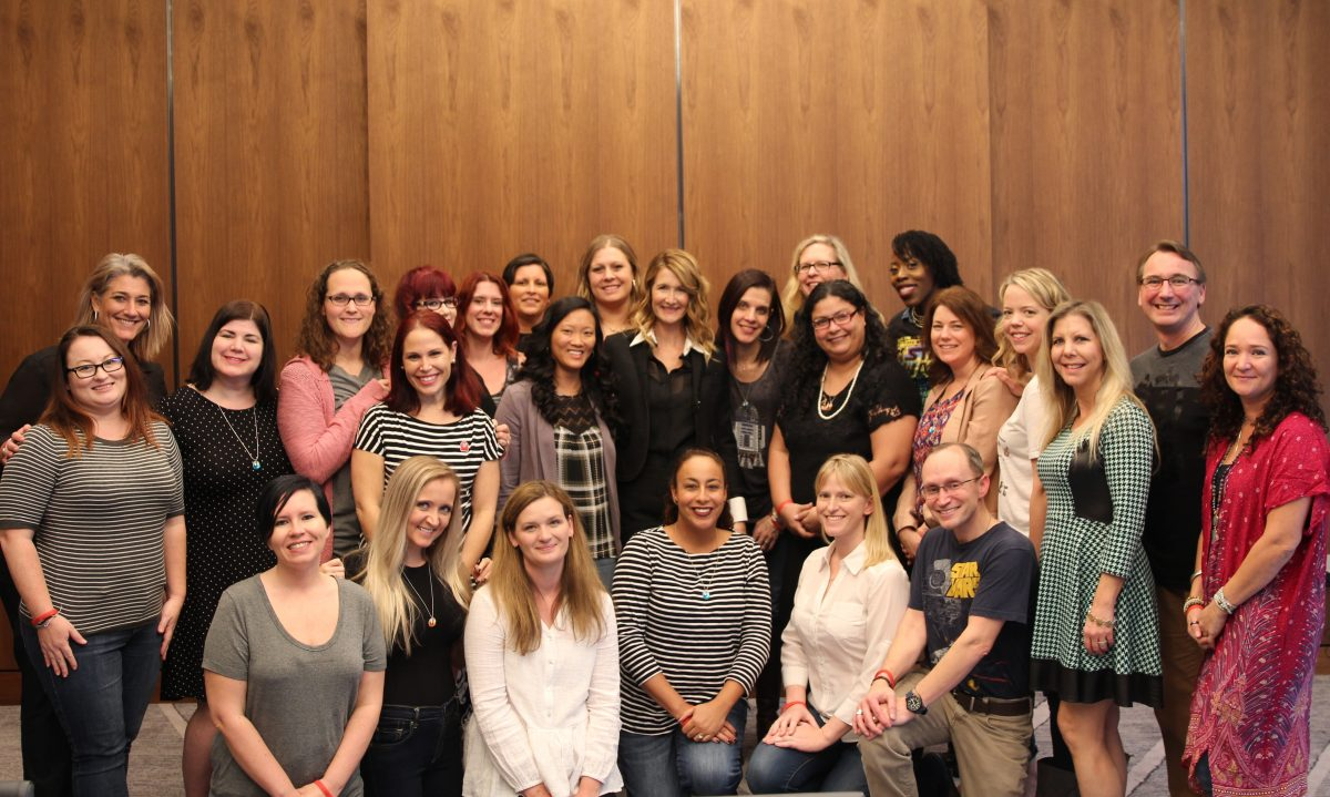 Group Photo with Laura Dern