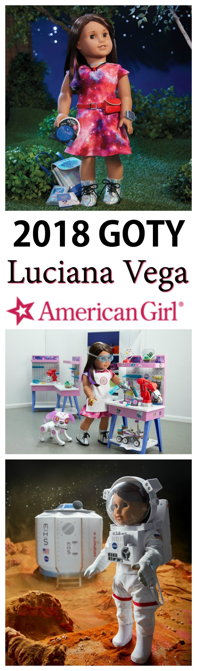 Meet 2018 GOTY American Girl Luciana Vega
