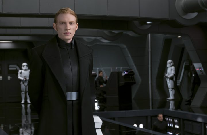 An interview with Domhnall Gleeson: The Last Jedi