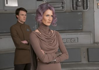 Laura Dern is Amilyn Holdo in THE LAST JEDI.