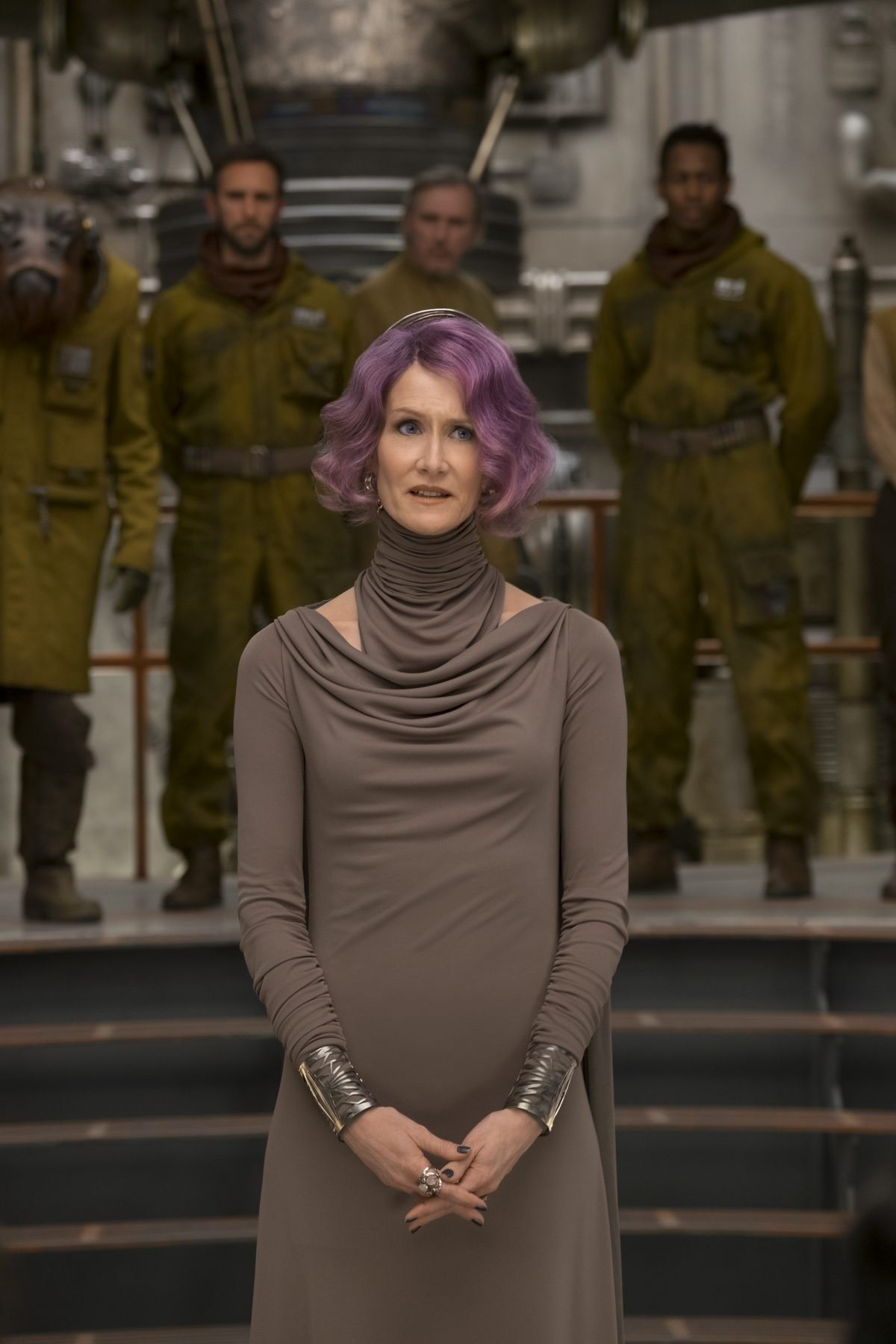 Laura Dern is Vice Admiral Holdo in THE LAST JEDI. Photo credit: Disney