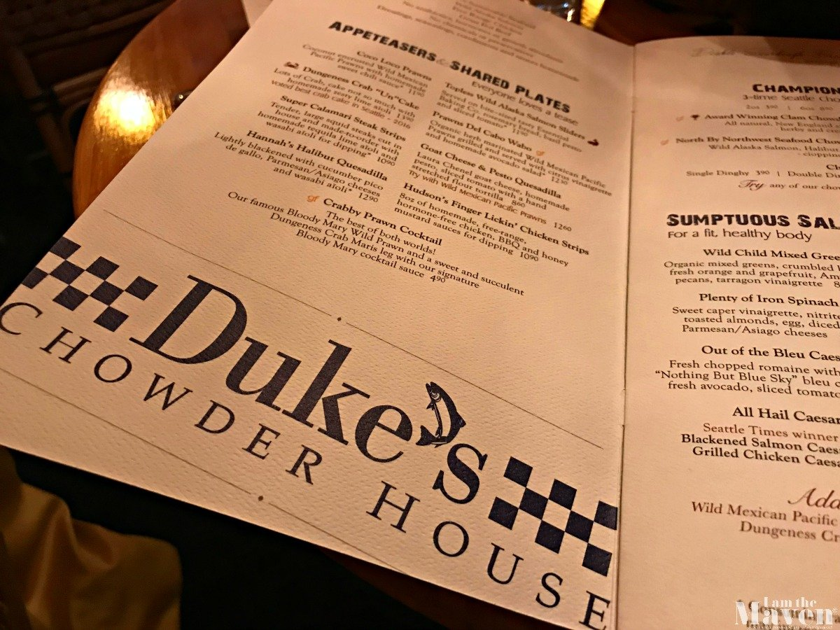 dukes chowder menu