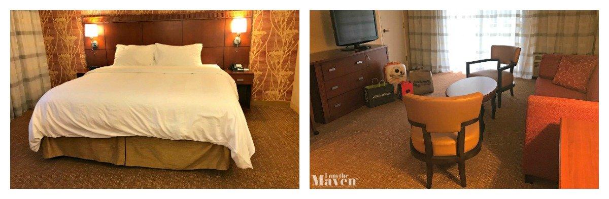 one bedroom suite at courtyard marriott