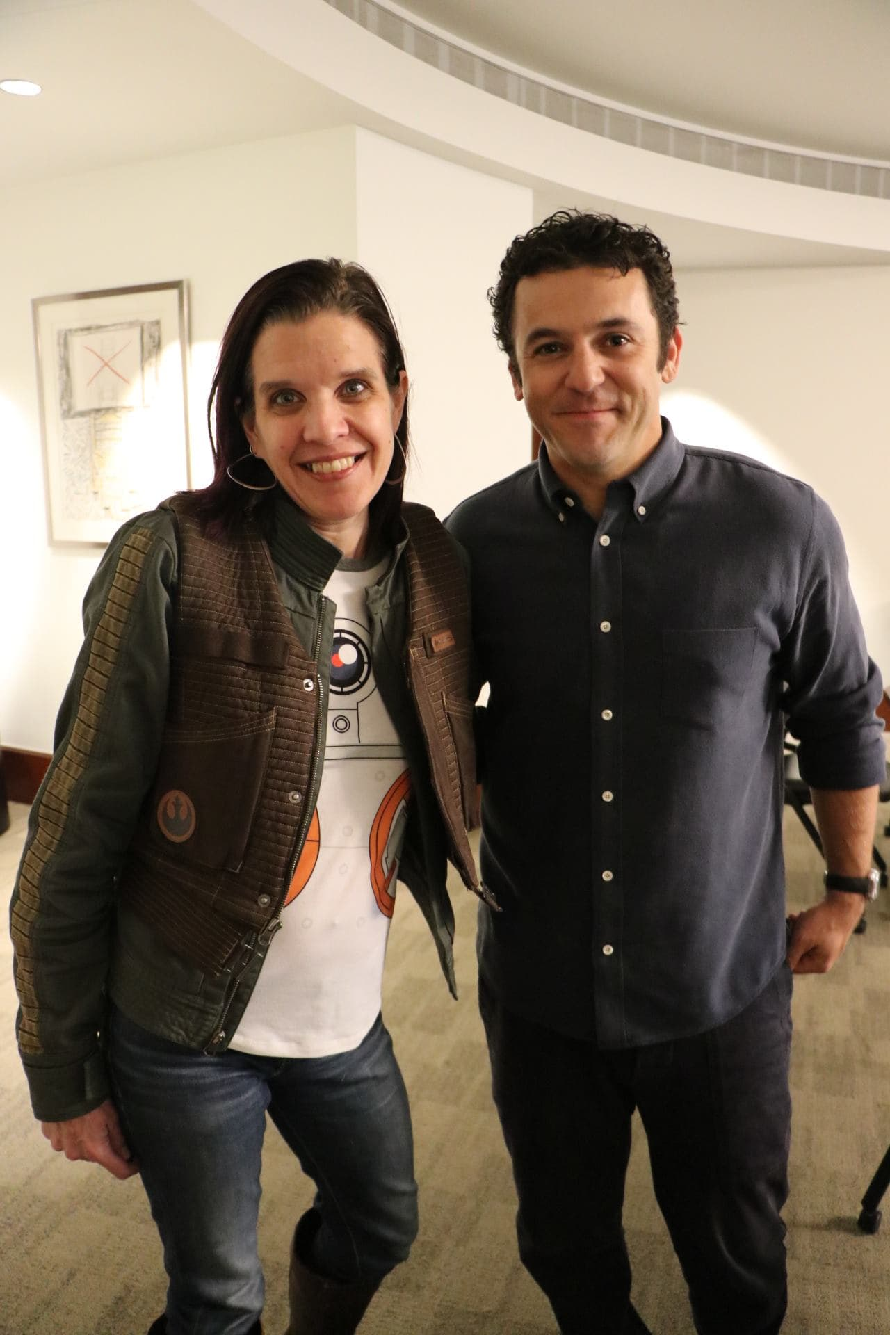 Fred Savage and Kerri Jablonski