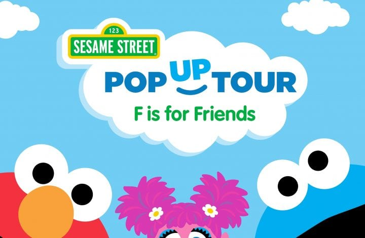 Sesame Street: F is for Friends Pop-Up Tour!