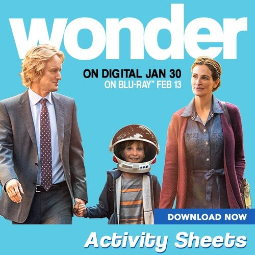 Wonder Activity Sheets