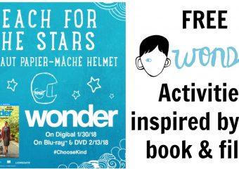 Wonder Activities Inspired by the Wonder Book & Movie!