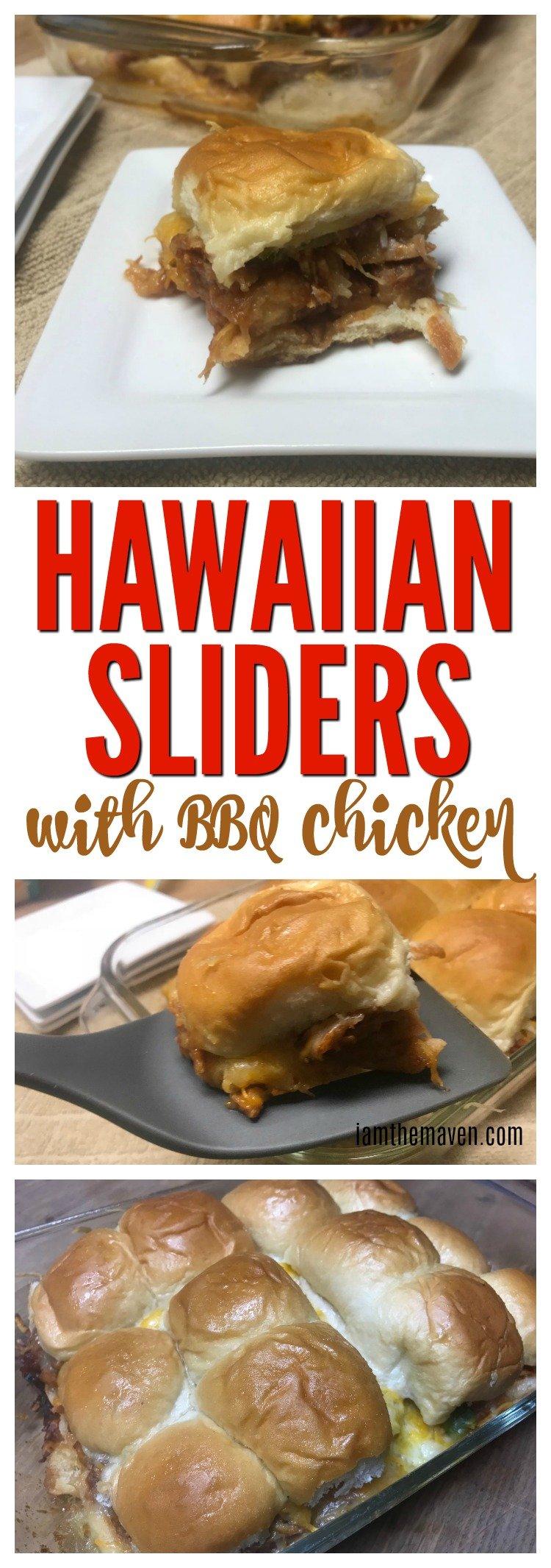 Looking for the perfect Hawaiian Sliders recipe? This BBQ chicken sliders recipe is perfect for game day food. Who doesn't love Hawaiian roll sliders?