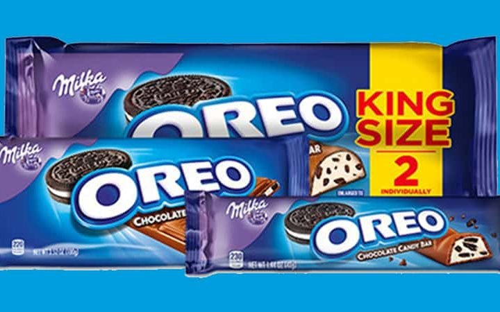 OREO Chocolate King Size Candy Bars  are on Rollback at Walmart!