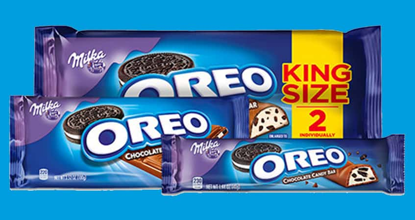 OREO Chocolate King Size Candy Bars Rollback