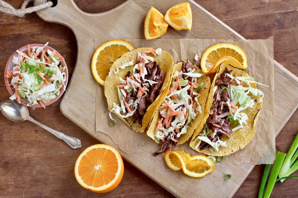BBQ Skirt Steak Tacos