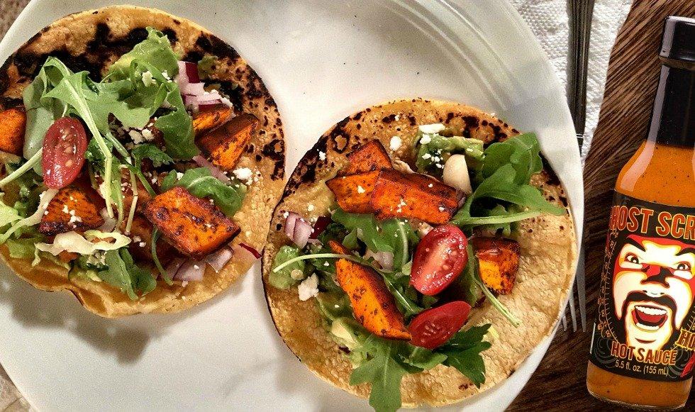 Yam Tacos