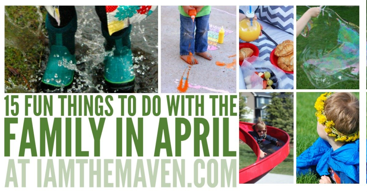 fun things to do in april