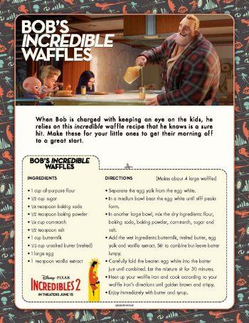 Incredibles Waffles