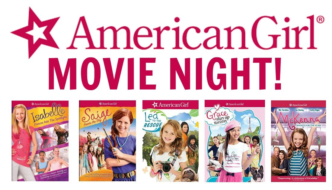 movie night at american girl
