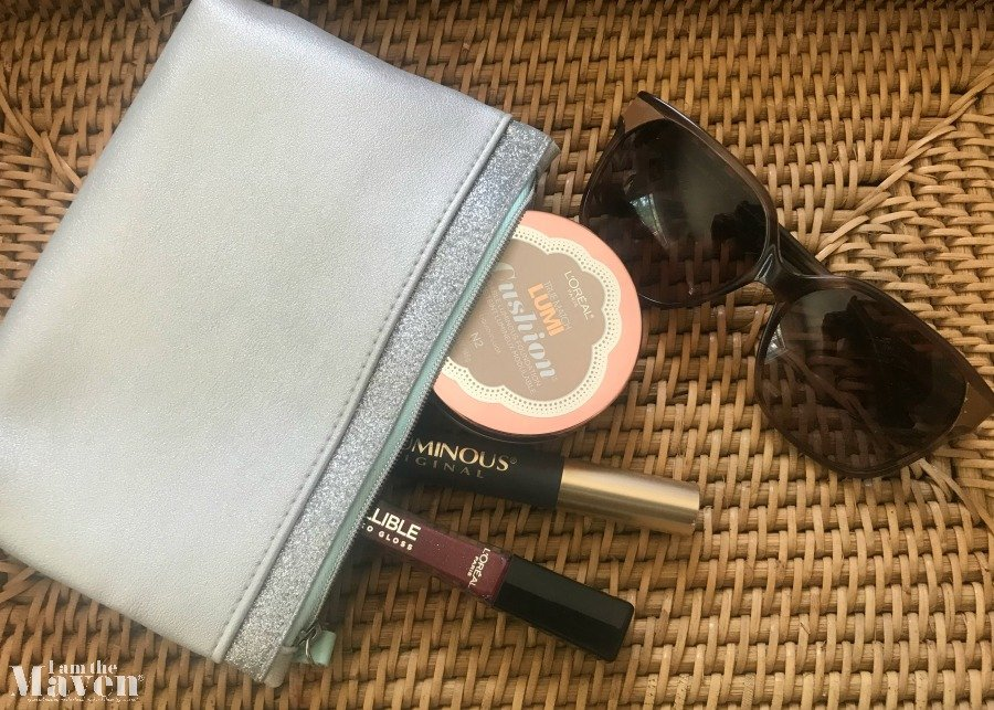 makeup in bag