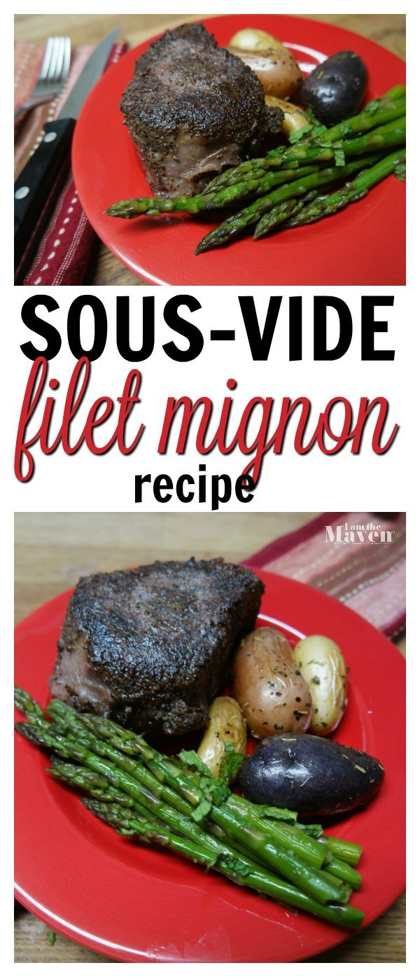 Looking for sous-vide steak recipes? It starts with a perfectly vacuum sealed steak to seal in flavor. Check out our sous-vide steak recipe for filet mignon! We'll show you that sous-vide cooking doesn't have to be intimidating! AD