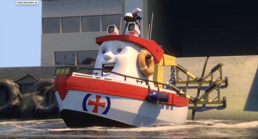 elias the rescue boat