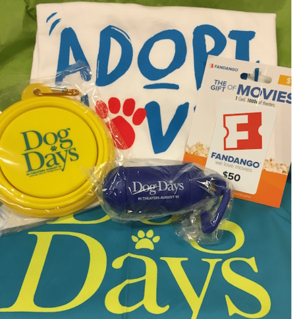 Dog days giveaway