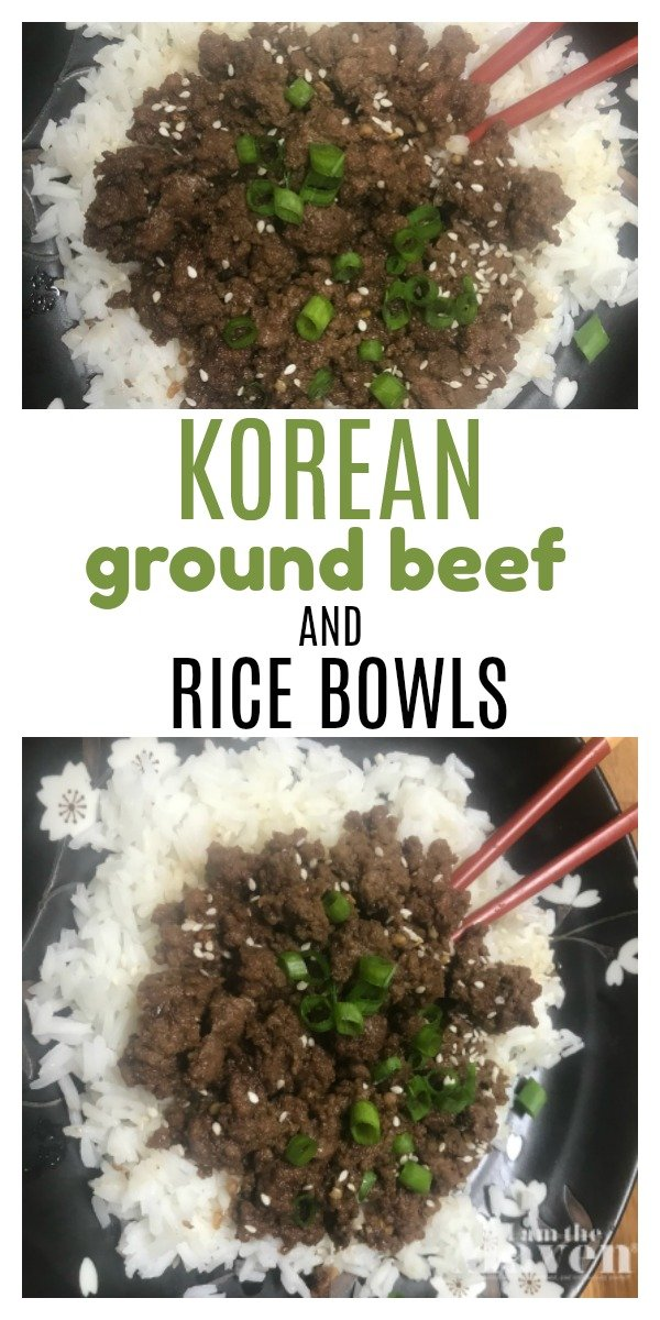 bowl of seasoned ground beef and rice