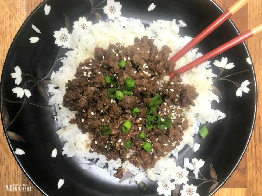 Easy to make Korean ground beef/
