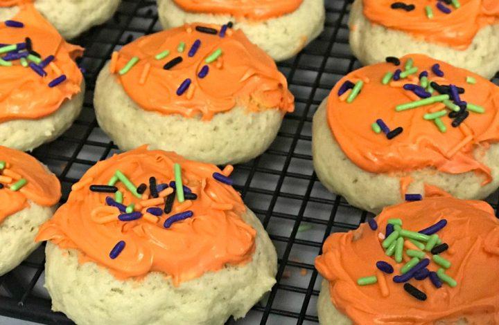Soft Sugar Cookies for a Teacher Thank You!
