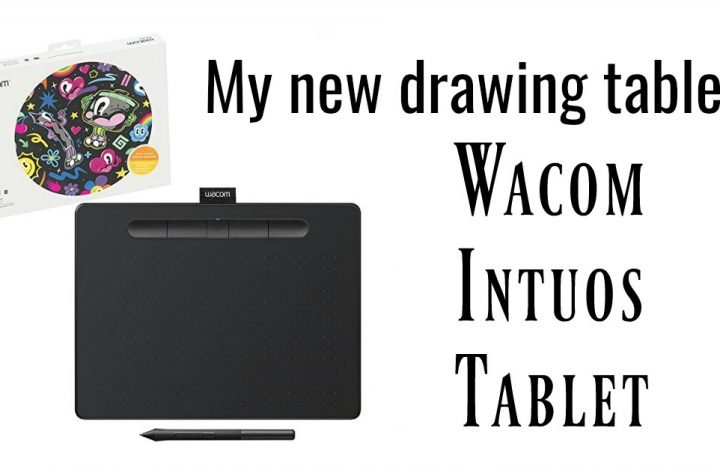 My new drawing tablet: Wacom Intuos Tablet