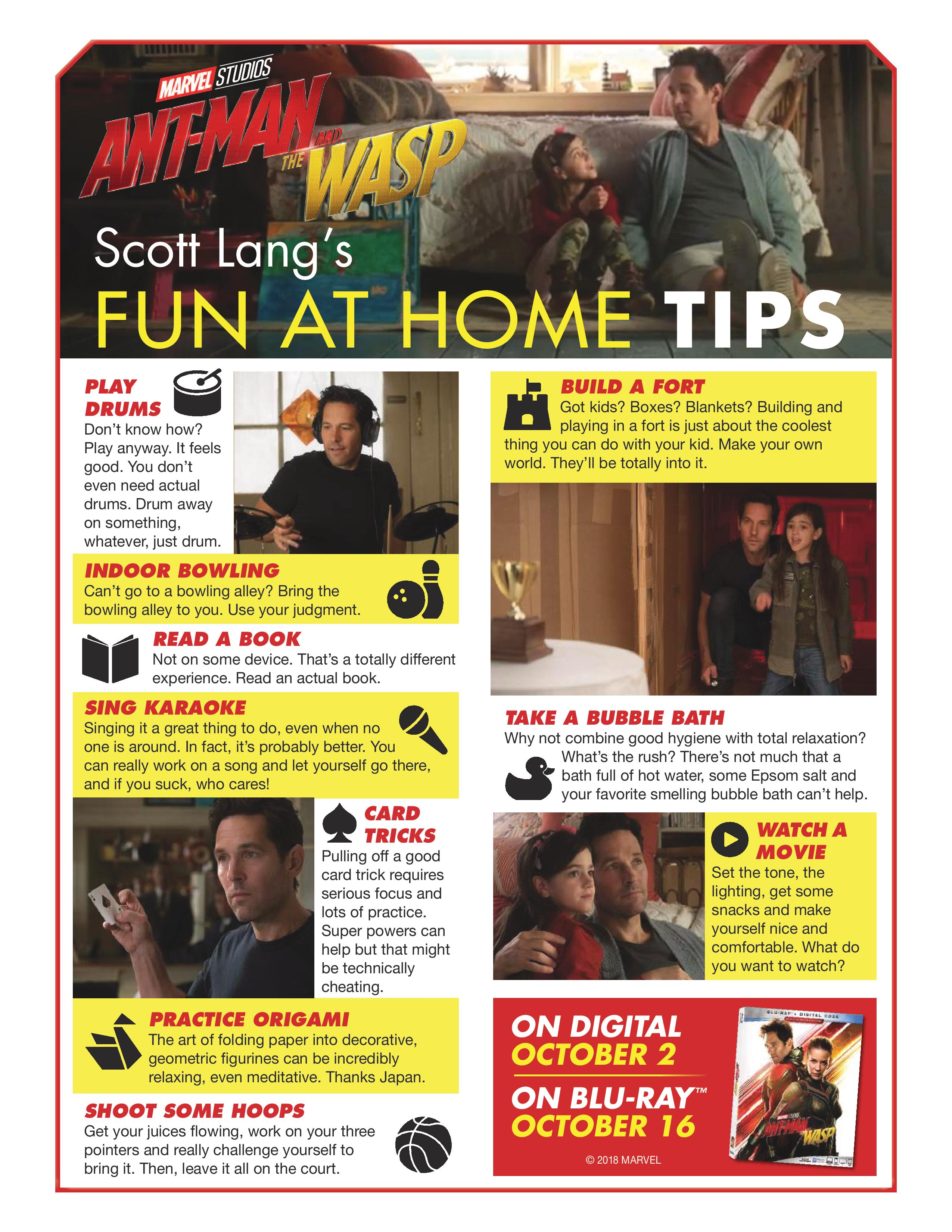 Fun at Home Tips from Ant Man & The Wasp | I am the Maven® Home Tips World on christmas world, travel world, food world, books world, garden world, shopkins world, green world,