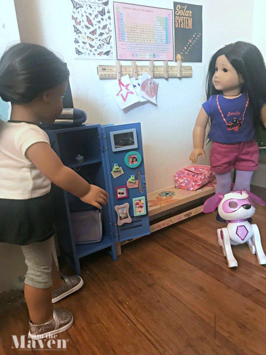 american girl doll classroom