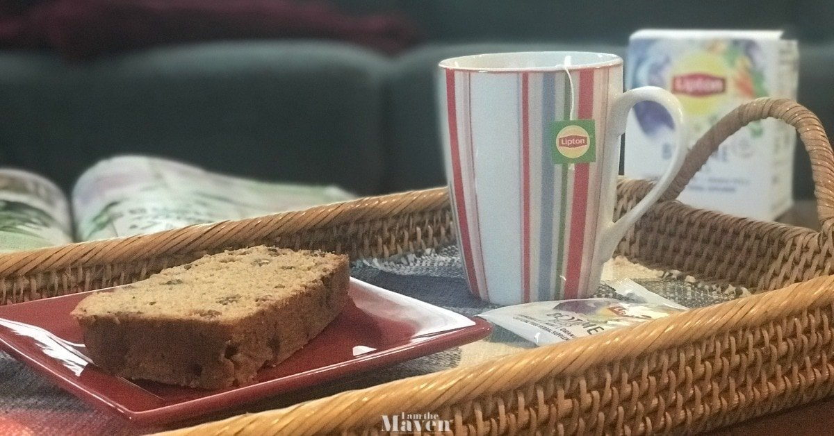 Make this Raisin Tea Bread Recipe for Cold & Flu Season | I