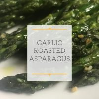 Garlic Oven Roasted Asparagus