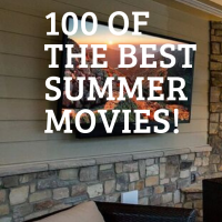 outdoor tv on porch to watch the best summer movies