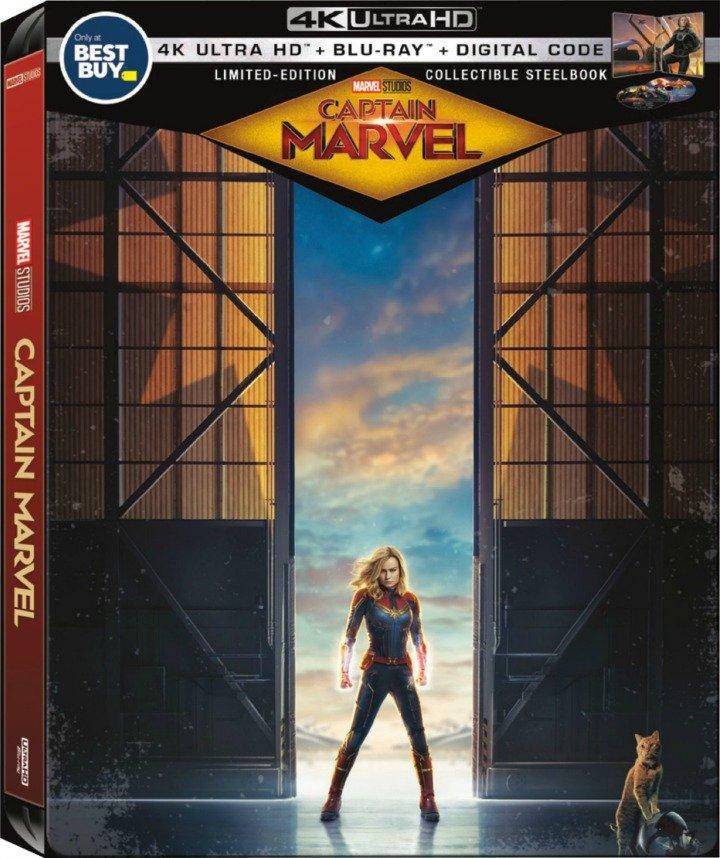 Captain Marvel - Steelbook