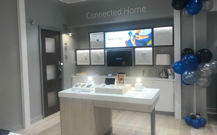 connected home in comcast/xfinity store