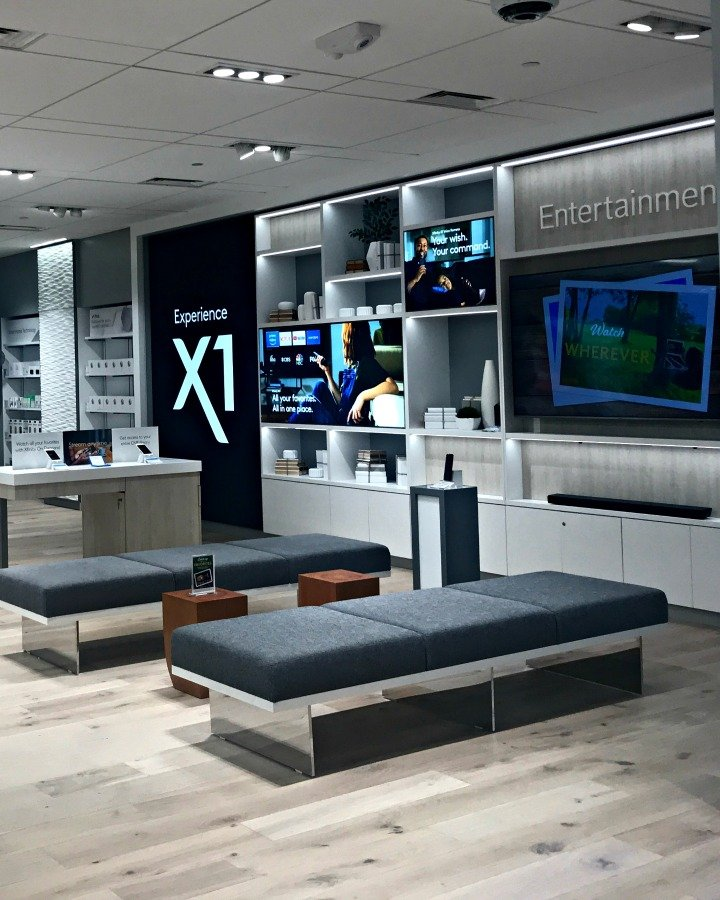 xfinity store x1 entertainment