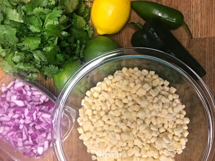 corn salsa ingredients