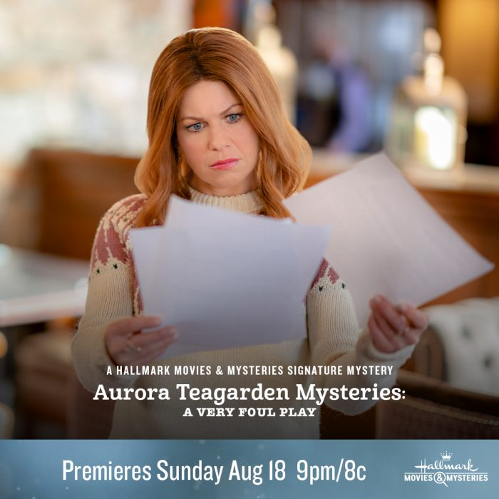 advertisement for Aurora Teagarden Mystery