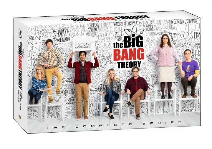 The Big Bang Theory box set art