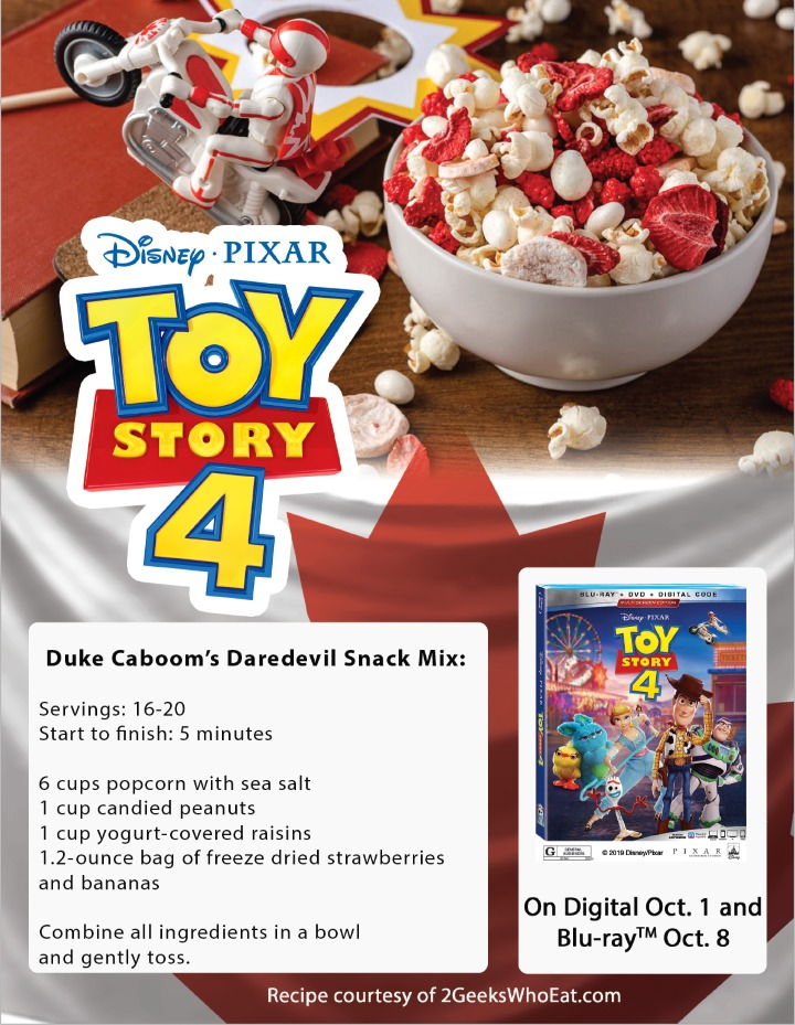 Duke Caboom Snack Mix