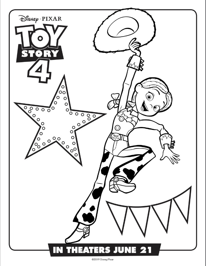 jessie coloring sheet