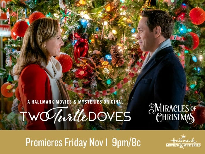 Hallmark Movie Two Turtle Doves advertisement