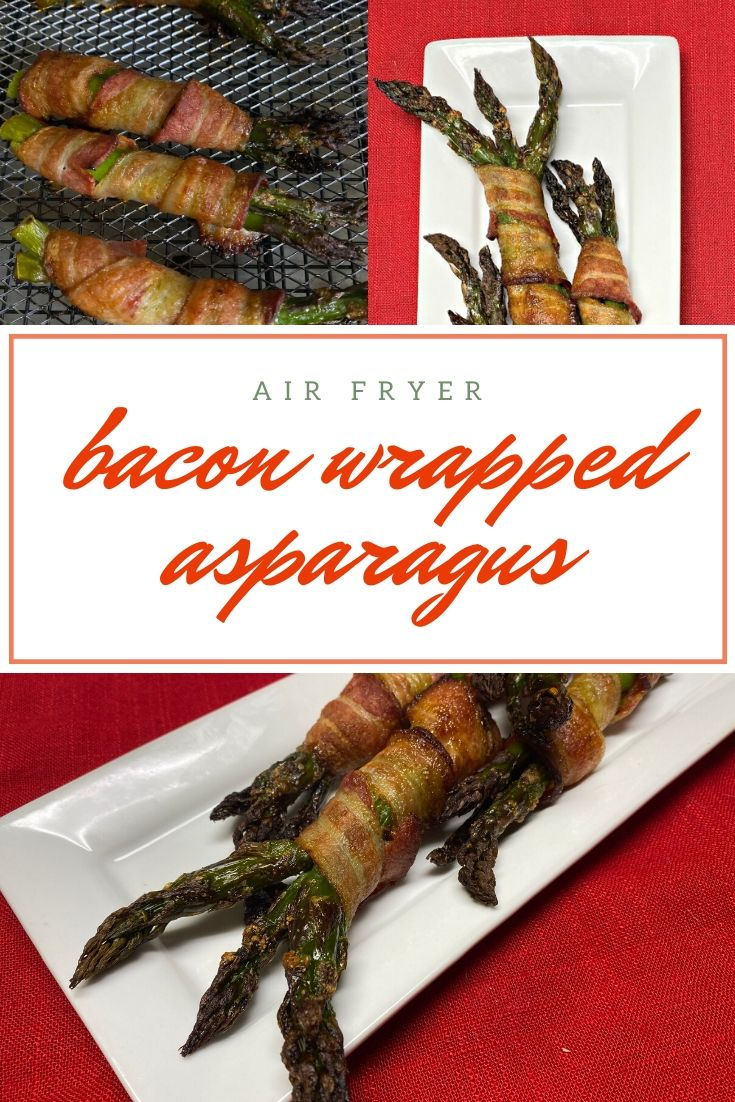 airfryer bacon wrapped asparagus