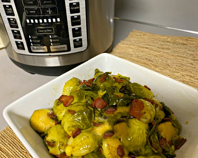 sous vide brussels sprouts with multi pot