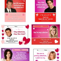 Friends Valentines Day cards