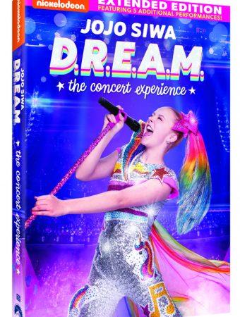 DVD COVER JOJO SIWA DREAM