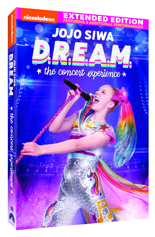 DVD COVER JOJO SIWA DREAM