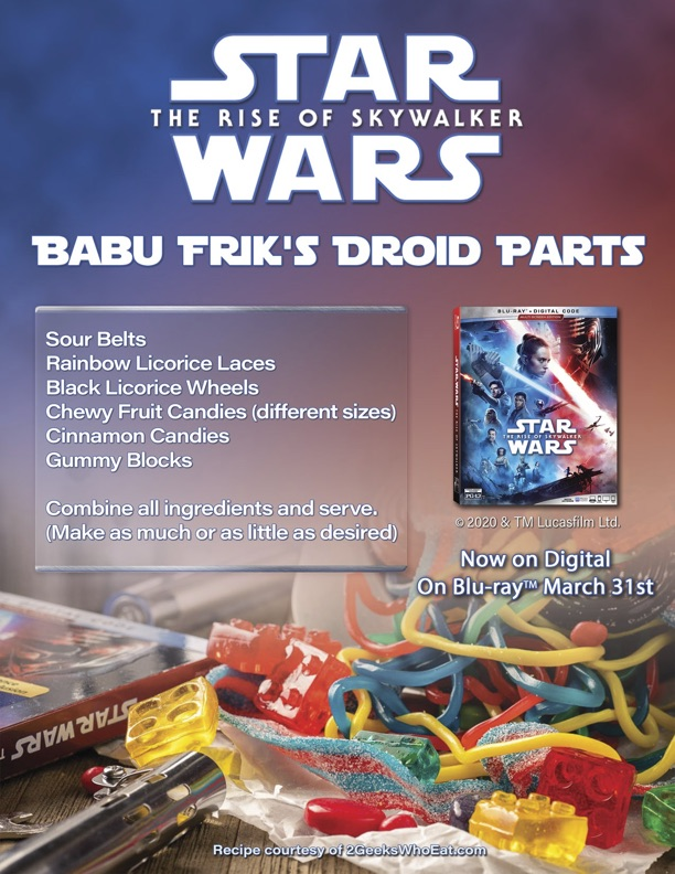 Babu Friks Droid Parts Recipe