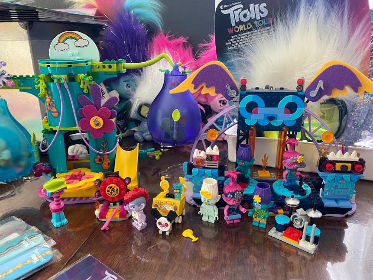 trolls lego sets