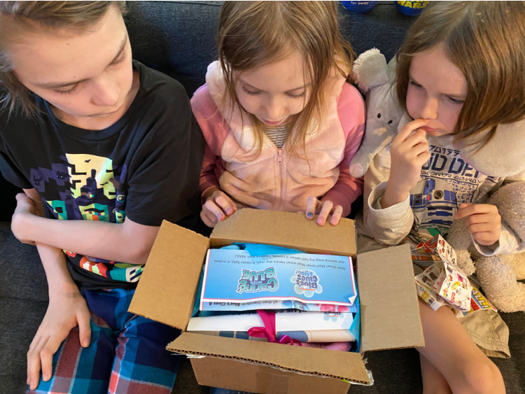 blues clues promotional gift box