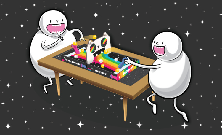 graphic of exploding kittens game